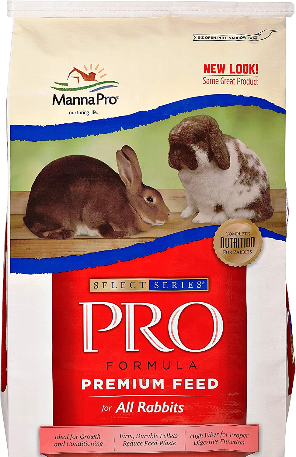 Manna Pro Select Series SHO Formula   Super-Premium Feed for Show Rabbits  Pelleted Feed   50 Pounds