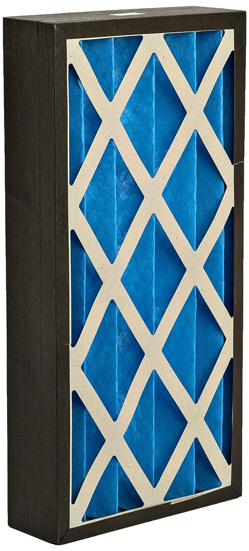 Technologie de filtrage Gvs G4p.12.24.4. Sua001.005G4plissé Panneau filtre, Bleu/Blanc (lot de 5) GVS Filter Technology G4P.12.24.4.SUA001.005
