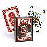 Jeu Bicycle Pro Poker Peek Tarot Rouge (US Playing Card Company)