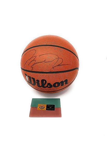 best sneakers 52318 fb917 Michael Jordan Chicagto Bulls Signed Autograph Basketball ...