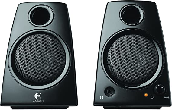 Logitech 3.5mm Jack Compact Laptop Speakers