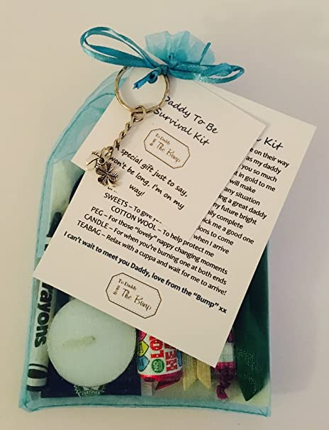 New Daddy To Be Survival Kit Card FromquotThe Baby Bumpquot Fantastic Gift