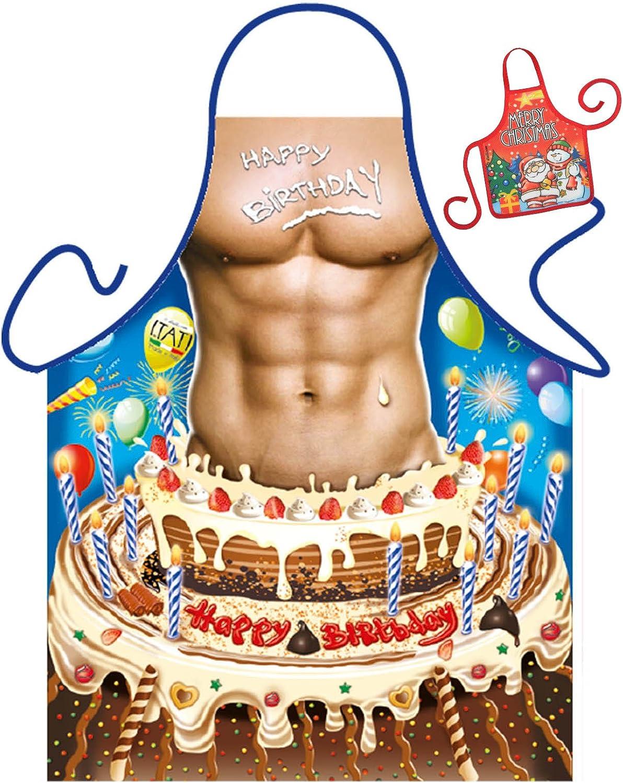 Marvelous Happy Birthday Man Apron Sexy Men Body Birthday Birthday Cake Funny Birthday Cards Online Fluifree Goldxyz