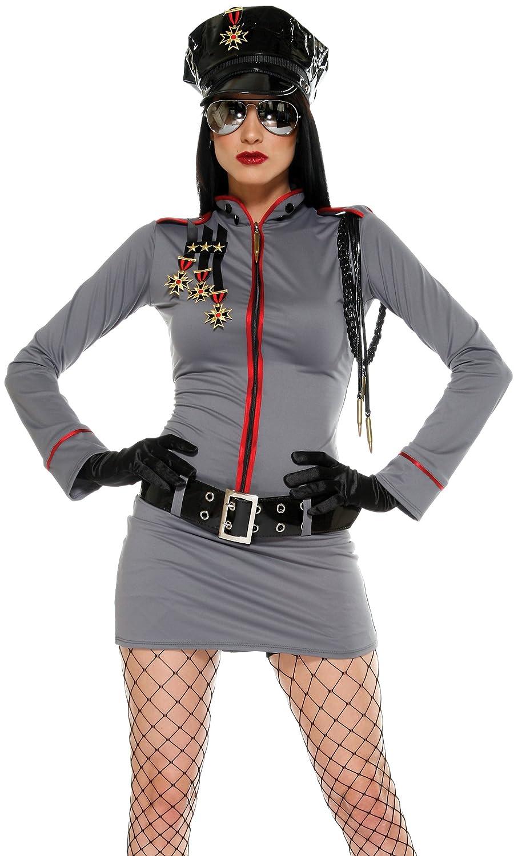 Adult General Glam Military Costume - Medium Large Fancy Dress