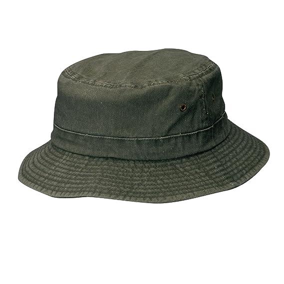 54c57255581c Dorfman Pacific Bonnet en coton léger pour enfants Petit moyen Pierre (Vert)