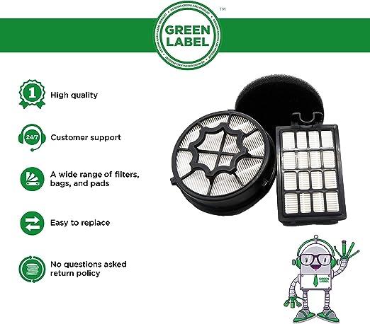 Electrolux Serie 79 Green Label Kit Filtri per gli Aspirapolvere AEG Alternativa a AEF112 // EF112B