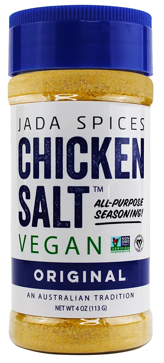 JADA Spices Chicken Salt Spice and Seasoning - Original Flavor - Vegan, Keto & Paleo Friendly - Perfect for Cooking, BBQ, Grilling, Rubs, Popcorn and more - Preservative & Additive Free