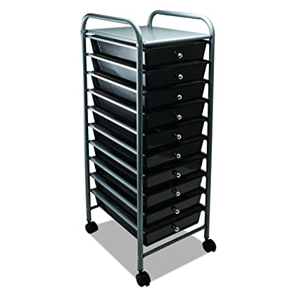 Amazoncom Advantus 10 Drawer Rolling File Organizer Cart 376 X
