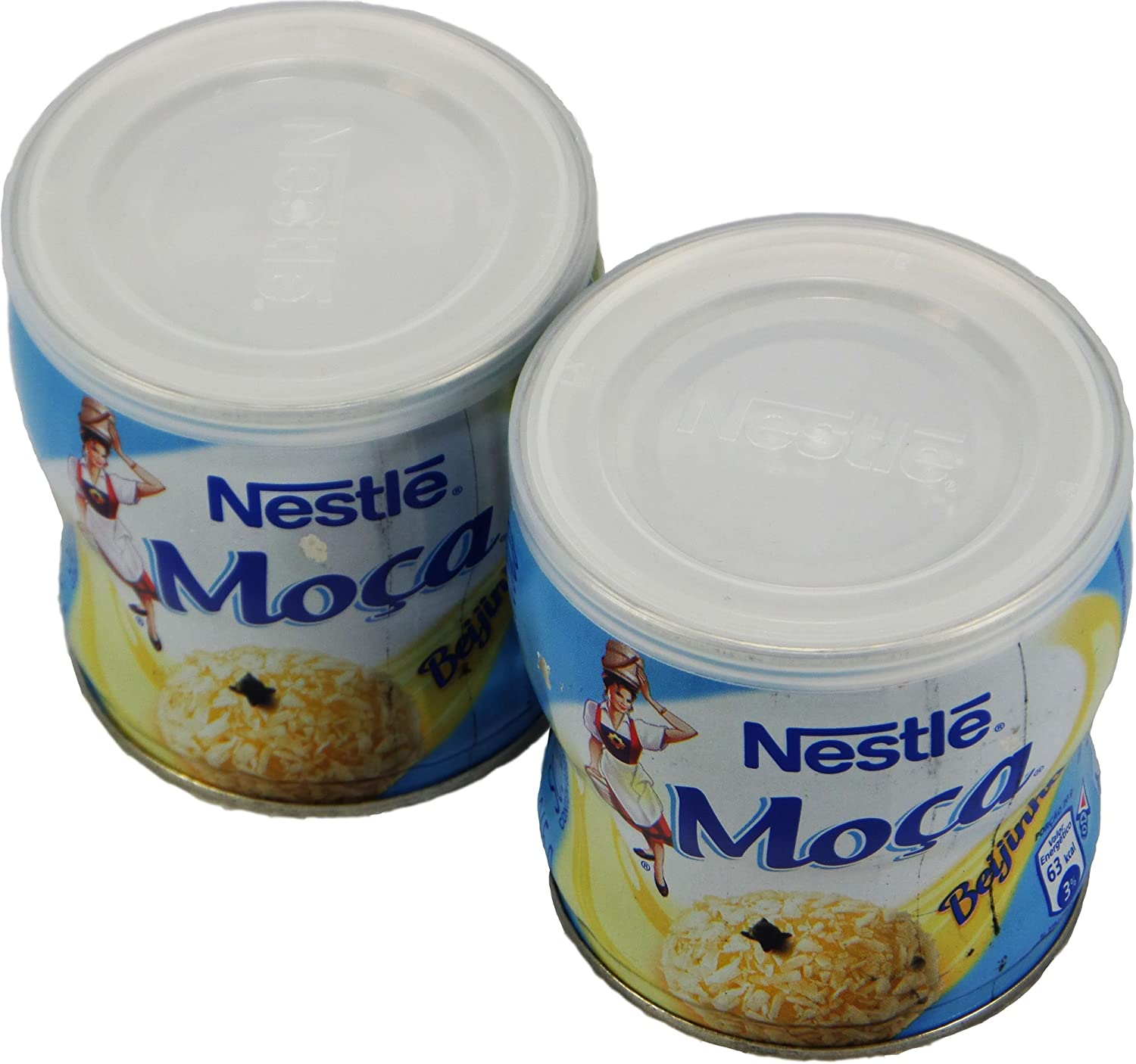 Amazon.com : Nestlé - Moça Fiesta - Coconut Desert - 12.9oz. (PACK OF 02) | Beijinho - 365g : Gourmet Food : Grocery & Gourmet Food
