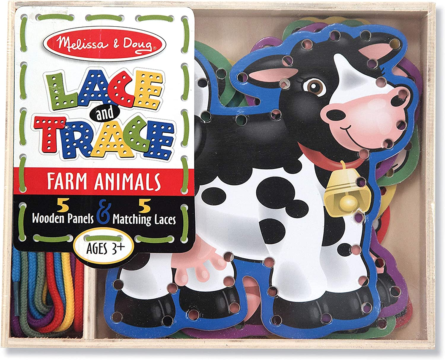 Melissa And Doug Lace and Trace Activity Set