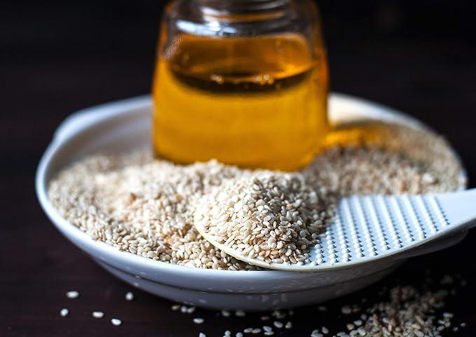 Food to Live Semillas de sésamo Bio certificadas (Eco, Ecológico, crudas, descascaradas, Kosher) (1 libra)
