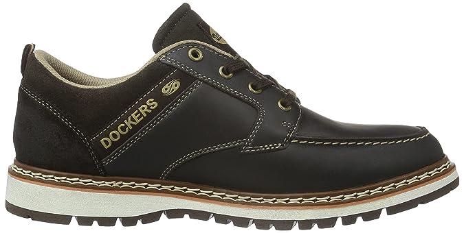Dockers Noir by Sneakers Gerli homme Basses 112360 39CL011 Tv8wOxpaq