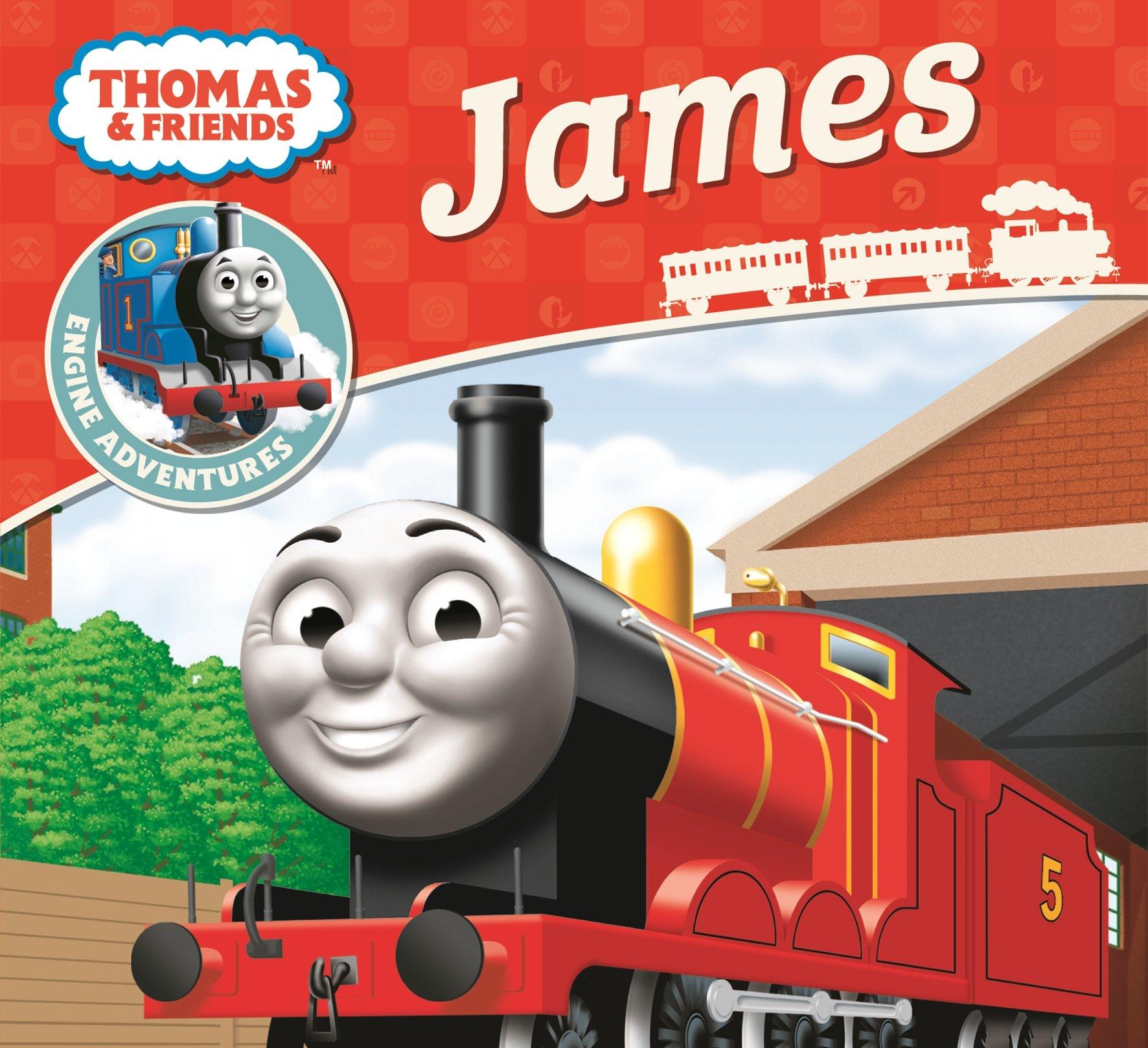 Thomas Friends James Engine Adventures Amazoncouk Emily Stead Robin Davies Books