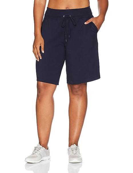 eb87e51158 Danskin Womens Plus Size Essential Bermuda Short Short: Amazon.ca: Clothing  & Accessories