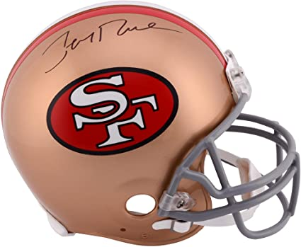 Image Unavailable. Image not available for. Color  Jerry Rice San Francisco  49ers Autographed Pro-Line Riddell Authentic Throwback Helmet - Fanatics ... c77f62a1e