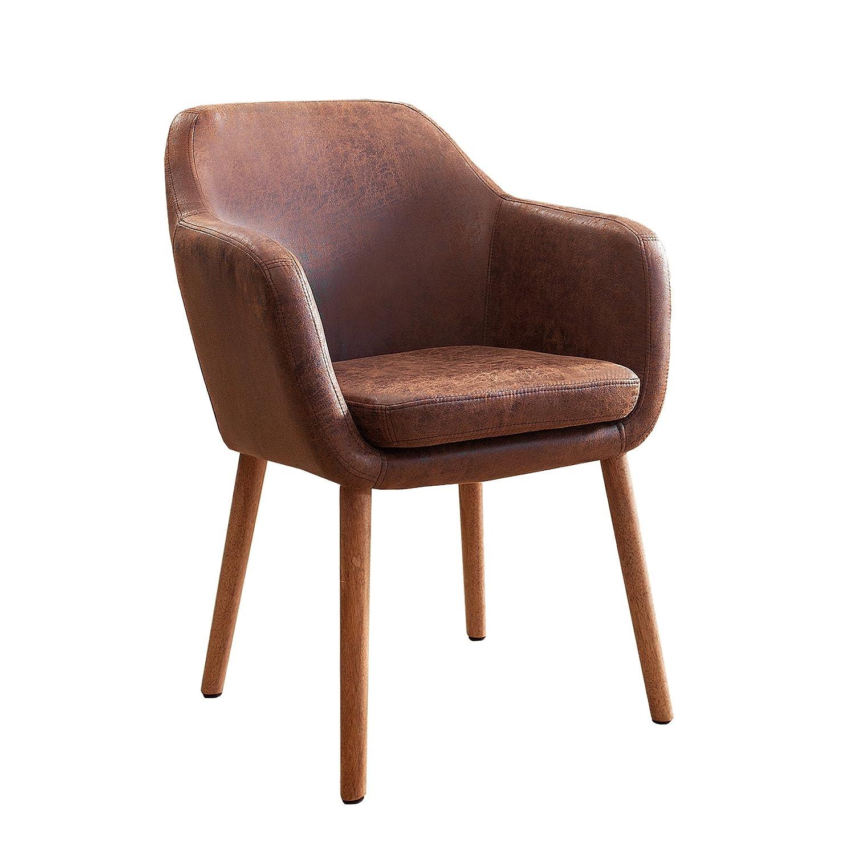 Blickfang Sessel Stuhl Esszimmer Dekoration Von Invicta Interior Massiver Design Supreme Vintage Braun