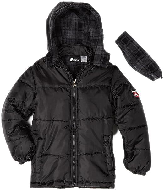 Amazon.com: Airwalk Outerwear Big Boys Solid Puffer ...