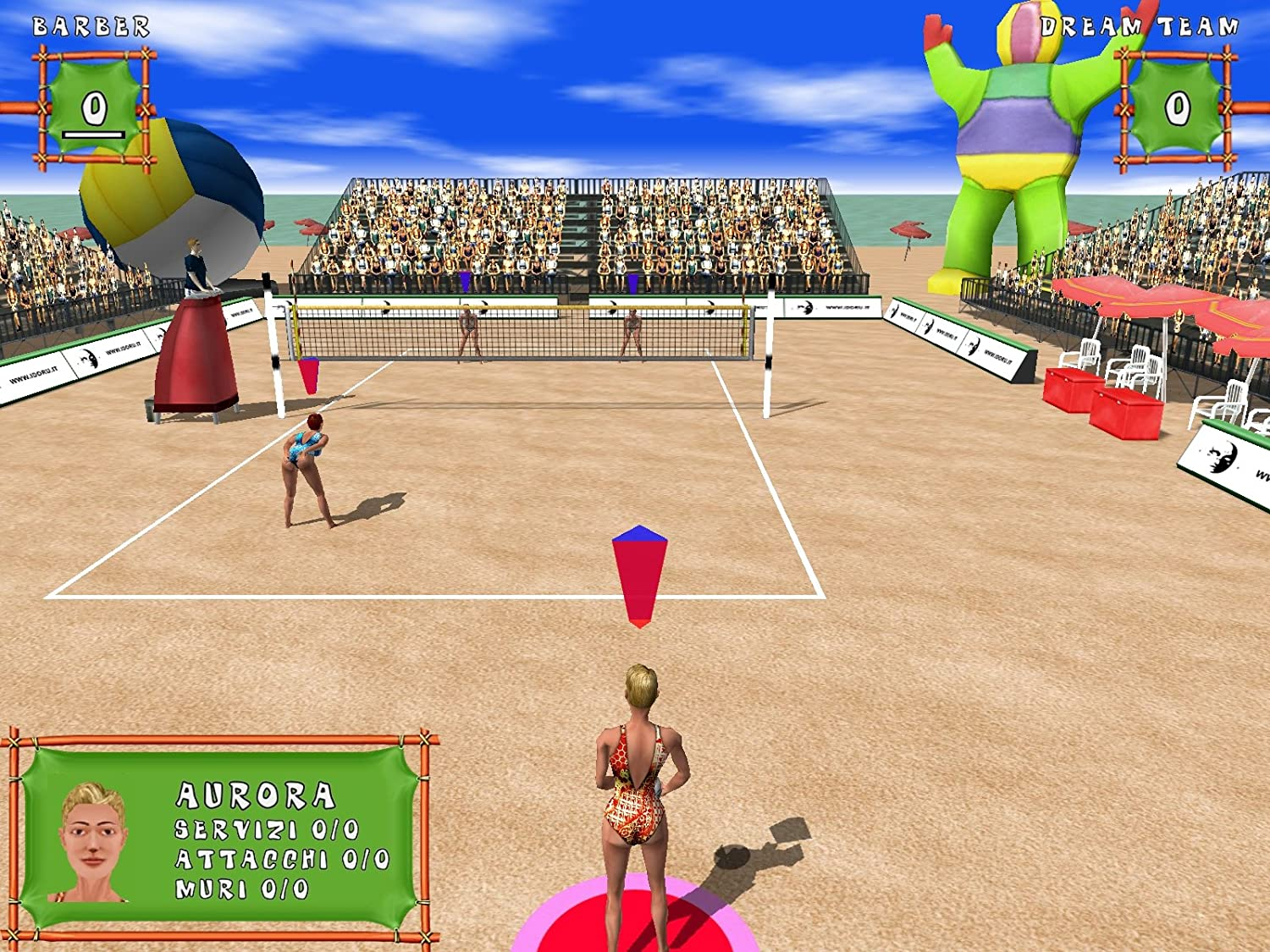 Beach volley hot sports [download]: amazon. Co. Uk: pc & video games.