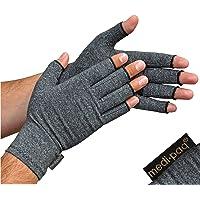 Medipaq® Artritishandschoenen (1 Paar) - Vingerloze Handschoenen die Warmte en Compressie Geven voor…