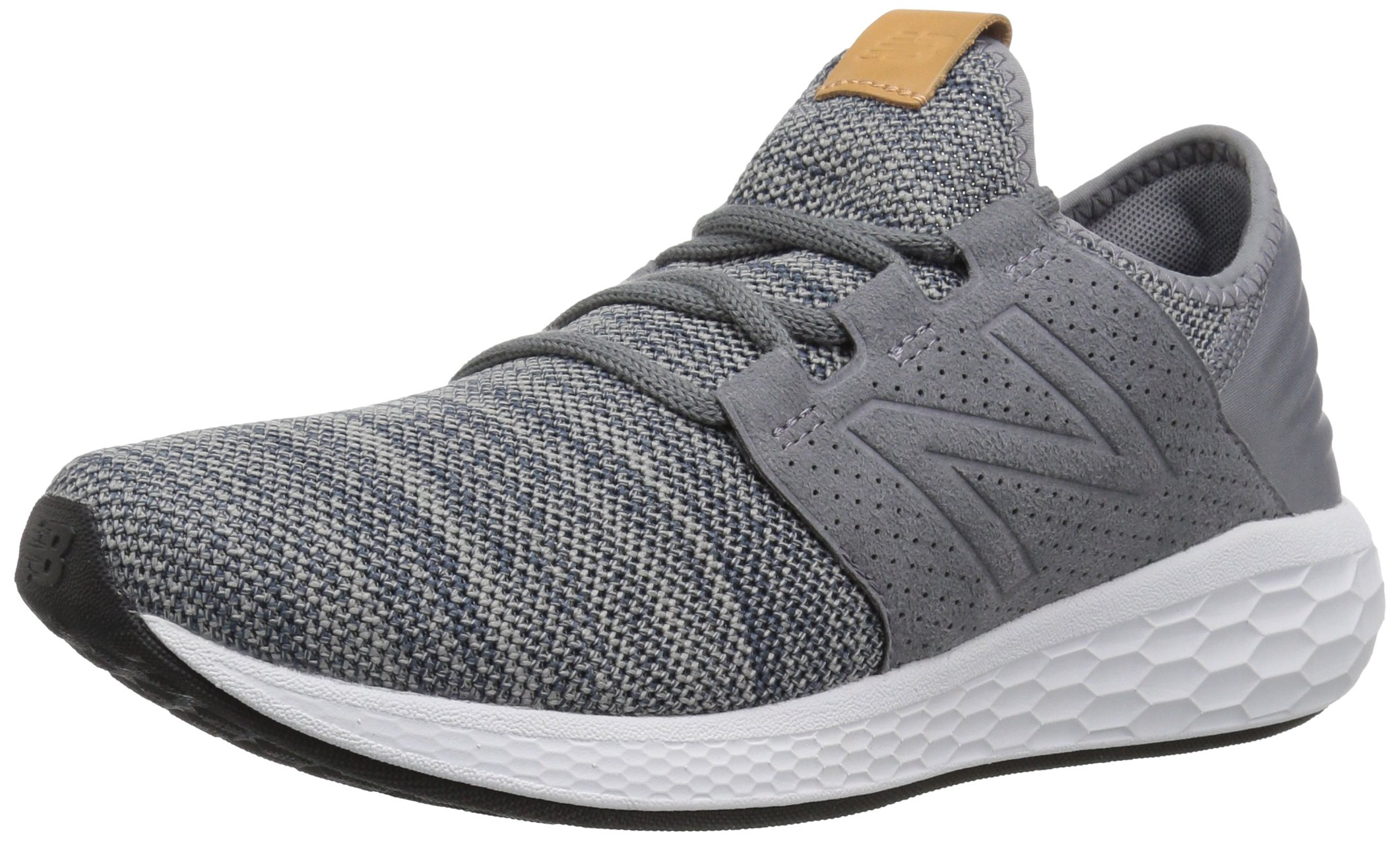 New Balance Men's Cruz V2 Fresh Foam Running Shoe, Gunmetal / Thunder, 7 D US by New Balance (Image #1)