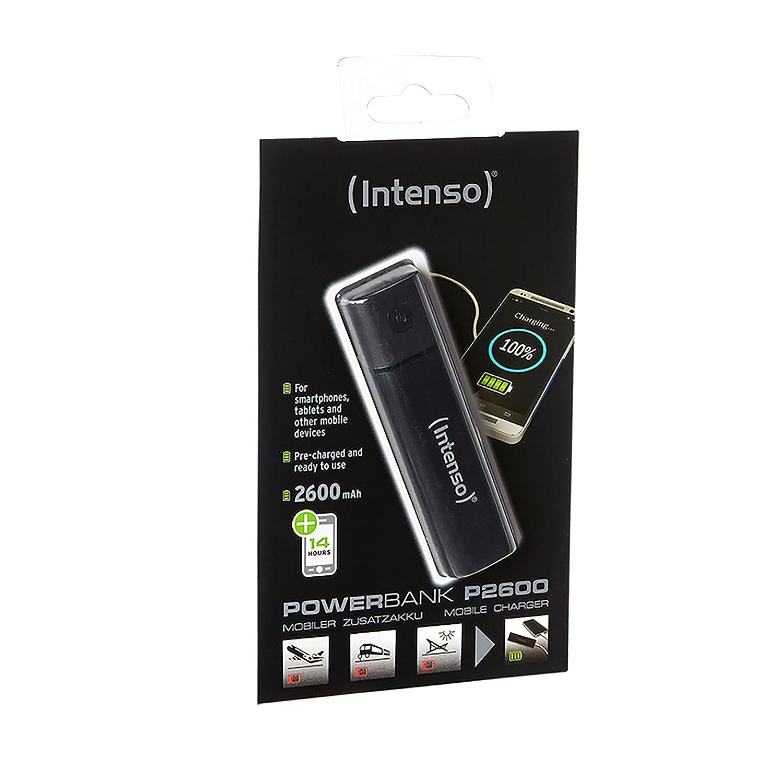 rose Intenso Powerbank PM5200 batterie de secours externe 5200 mAh design m/étal