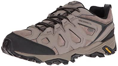 Merrell Men's Moab FST LTR Waterproof Hiking Shoe, Boulder, ...