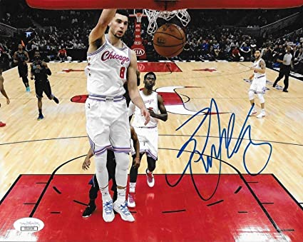 Image Unavailable. Image not available for. Color  Zach LaVine Signed ... c40508d09