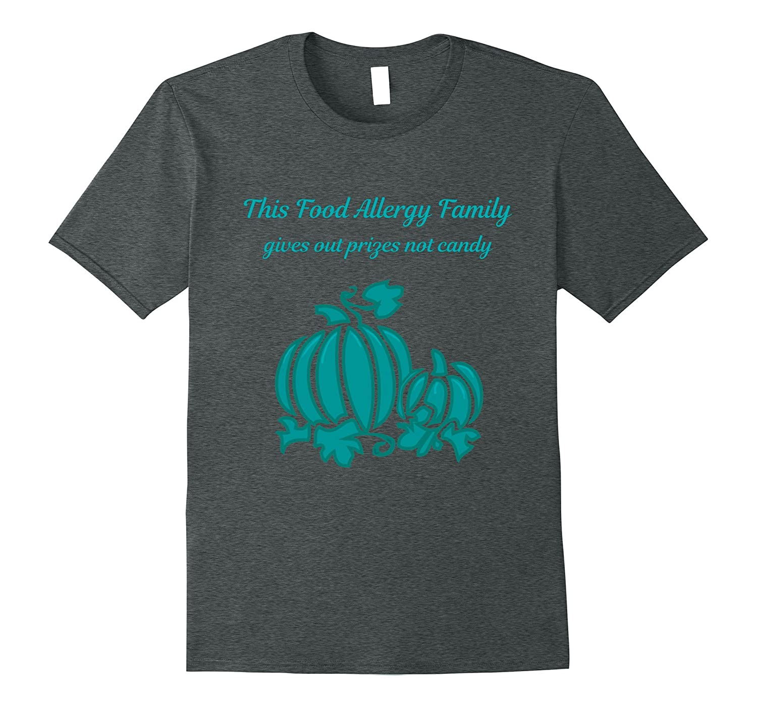 Food Allergies Shirt Halloween This Family gives out prizes-4LVS