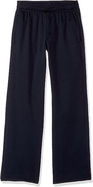 Hanes Boys Big Tech Fleece Open Leg Pant with Pockets