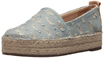 60632baea Circus by Sam Edelman Women's Camdyn-1 Platform, Light Blue/Natural Naked,