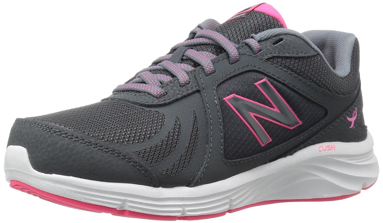 New Balance Women's WW496V3 Walking Shoe-W CUSH + Walking Shoe B0195IOXIM 5 B(M) US|Komen Pink
