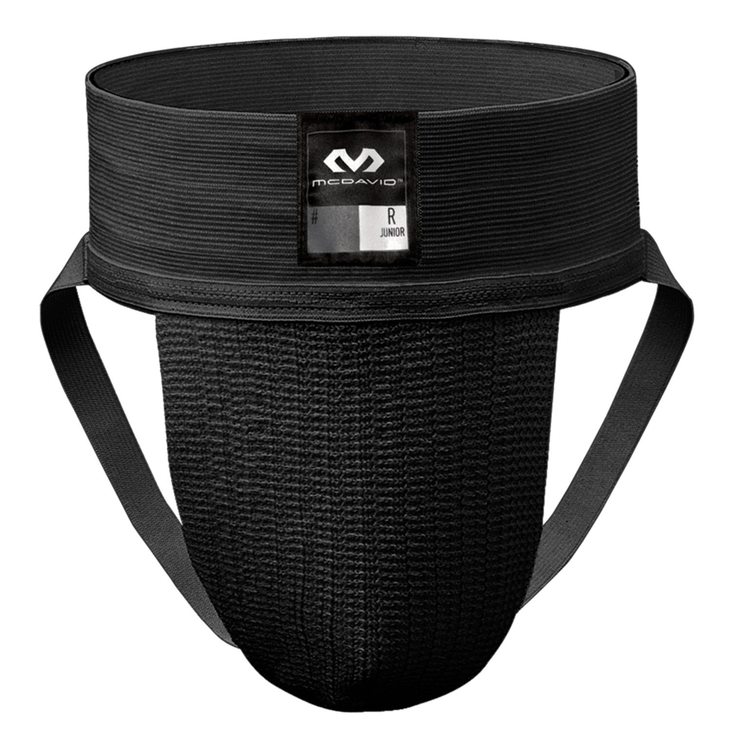 McDavid 3110 Classic Two Pack Athletic Supporter, Black, Large by McDavid