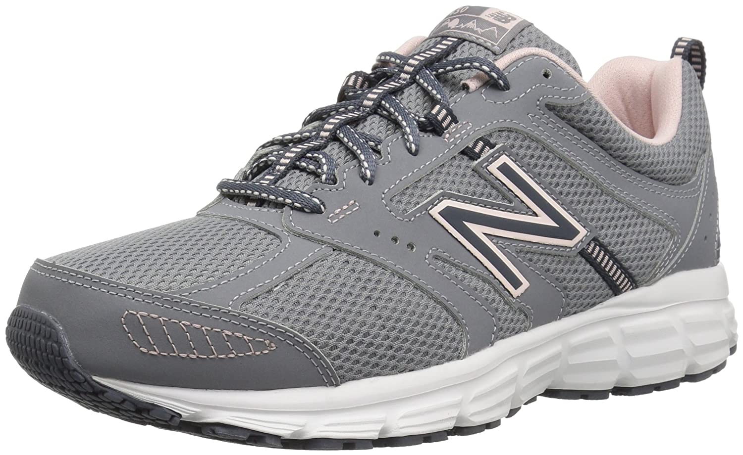 New Balance Women's 430v1 Running Shoe B075XN8TNX 8.5 D US|Steel/Clear Sky
