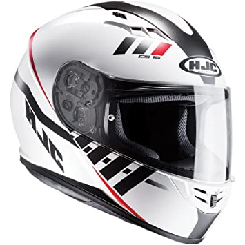 Casco Moto Hjc Cs-15 Space Blanco (S , Blanco)