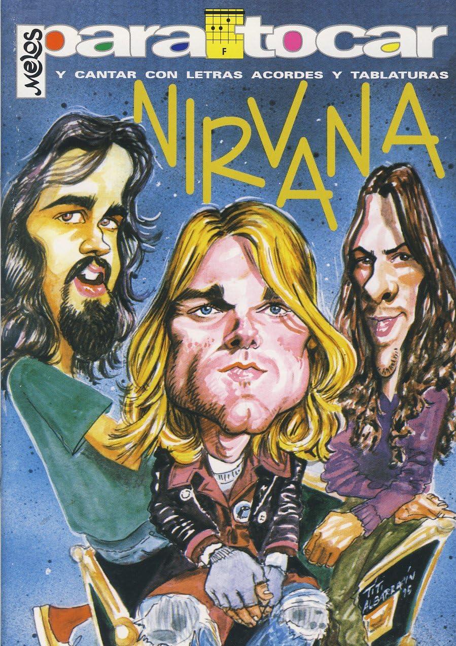 NIRVANA - Cancionero (Letras y Acordes) para Guitarra: Amazon.es ...