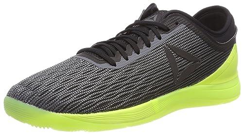 R Crossfit Nano 8.0, Zapatillas de Deporte para Hombre, Multicolor (Alloy/Black/Solar Yellow 000), 47 EU Reebok