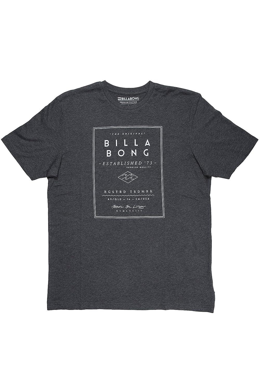 Billabong Divide SS - Camiseta para Hombre, Color Gris Oscuro, Talla M W1SS02 BIP6 3583