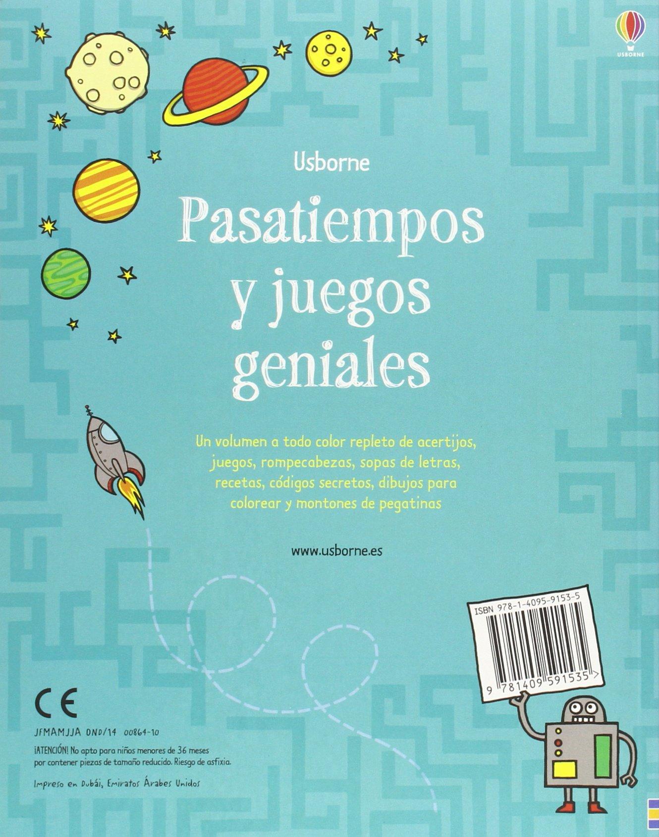 Pasatiempos Y Juegos Geniales 9781409591535 Amazon Com Books