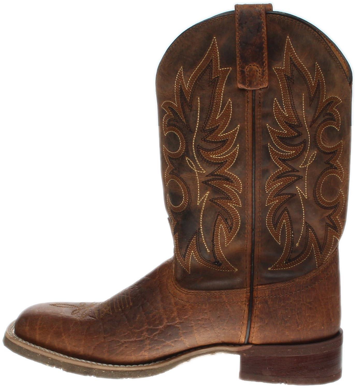 Laredo Mens Durant Square Toe Rust Boots B01FG6AWB4 10.5 D(M) US|Rust/Copper