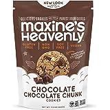 Maxine's Heavenly - Vegan, Gluten Free, Soy Free, Non-GMO - Chocolate Chocolate Chunk Cookies