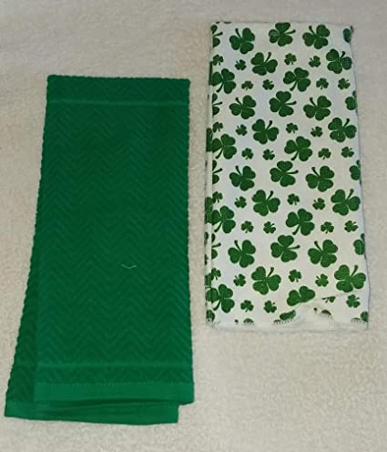 Amazon Com 2 Piece Kelly Green And Shamrock St Patricks Day