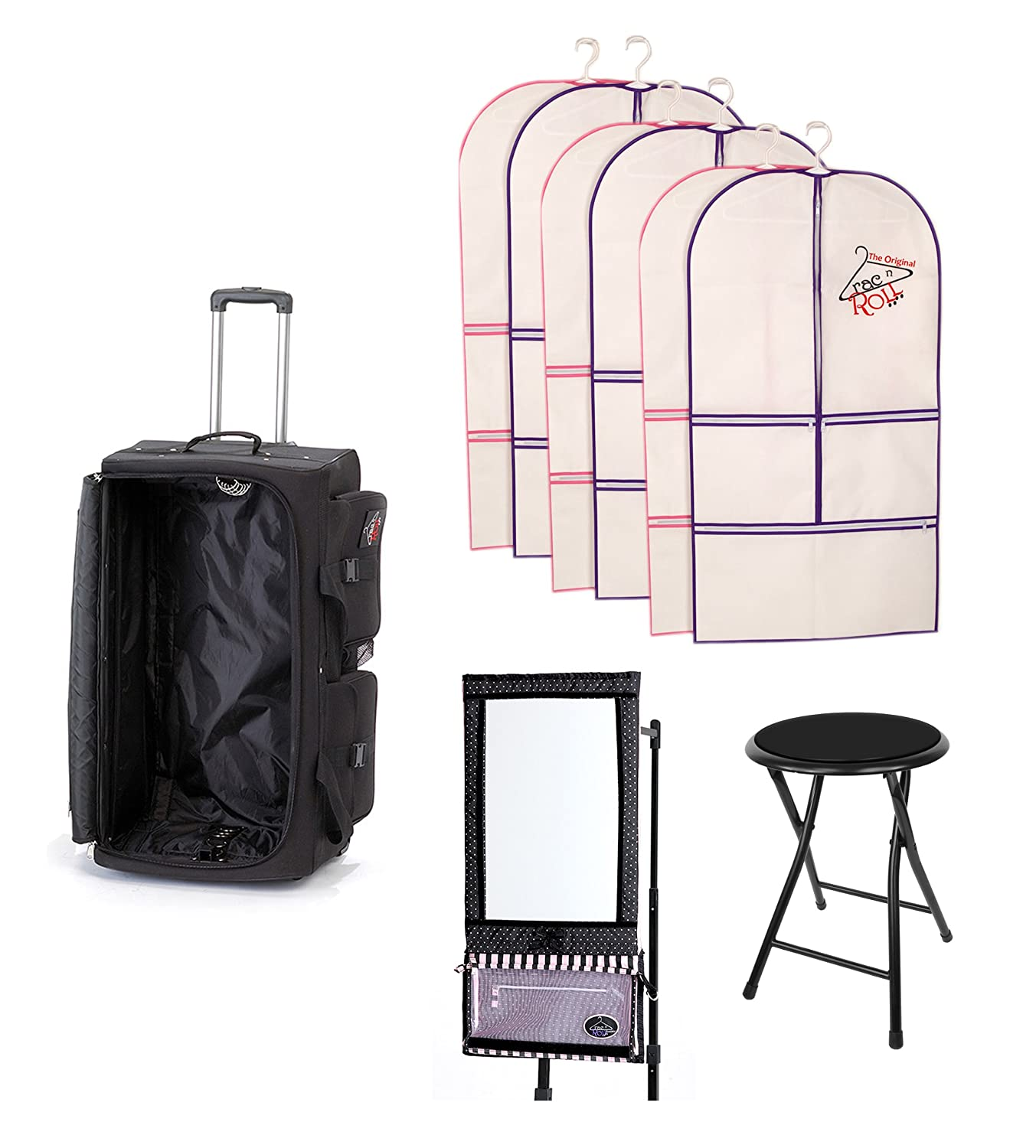 b452a00488 Ultimate Rac N Roll Dance Bag   Luggage - Includes Mirror