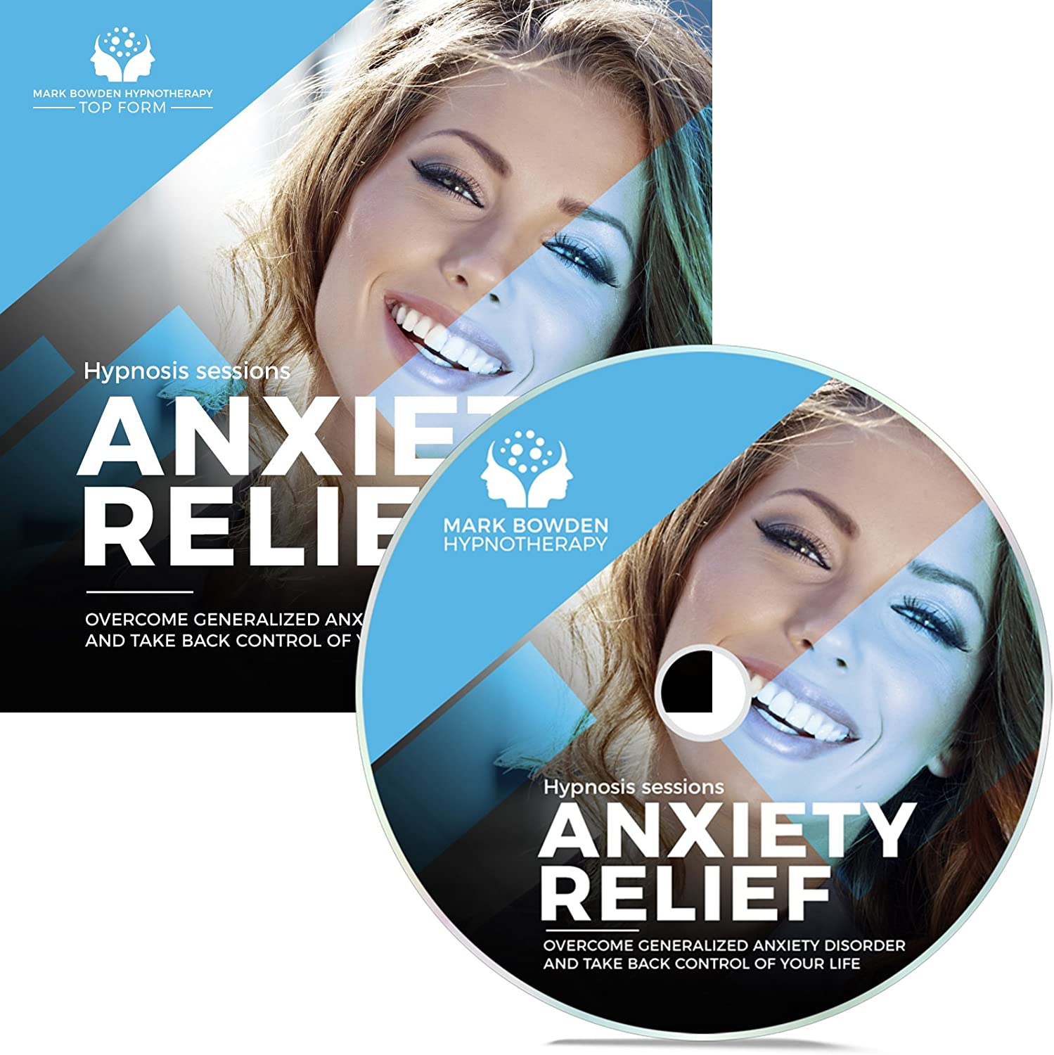 Anxiety Relief Self Hypnosis CD / MP3 and APP