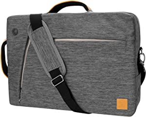 Multifunctional Laptop Message Bag for Dell 15 inch (Grey)