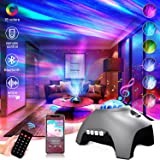 Star Projector Galaxy Light Projector for Bedroom Bluetooth Music Speaker Aurora Light Projector Ocean Wave Projector Star Pr