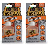 Gorilla Clear Glue, 1.75 Ounce Bottle, Clear (Pack of 2)