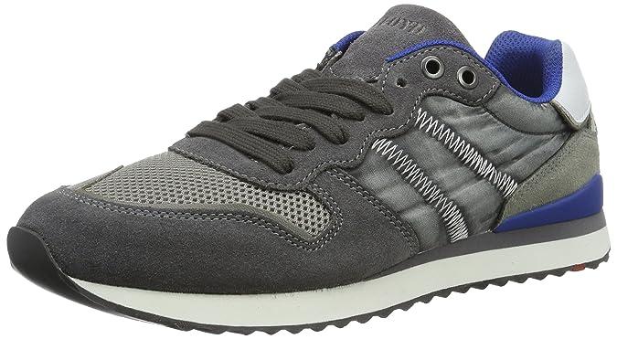 Eastman, Sneaker Uomo, Schwarz (Black/Grey), 44.5 EU Lloyd