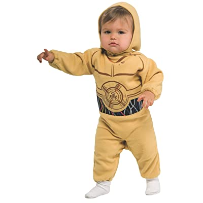 Star Wars Romper And Headpiece C-3Po, C-3PO Print, 1-2 Years: Clothing
