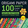 Origami Paper Nature Patterns: Tuttle Origami Paper: High-Quality Origami Sheets Printed with 12 Different Designs (Instructions for 8 Projects Included)