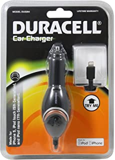 Duracell Pro393 2 1 A Usb Mini Car Charger With 6 Feet Cable